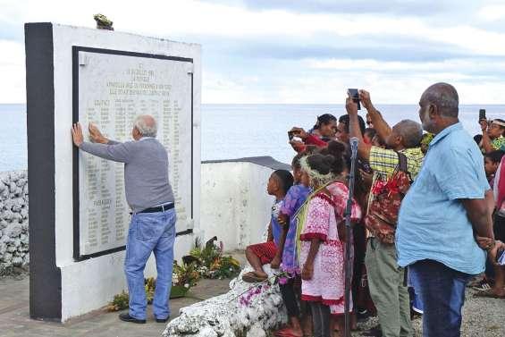 Maré a honoré la mémoire des disparus de La Monique