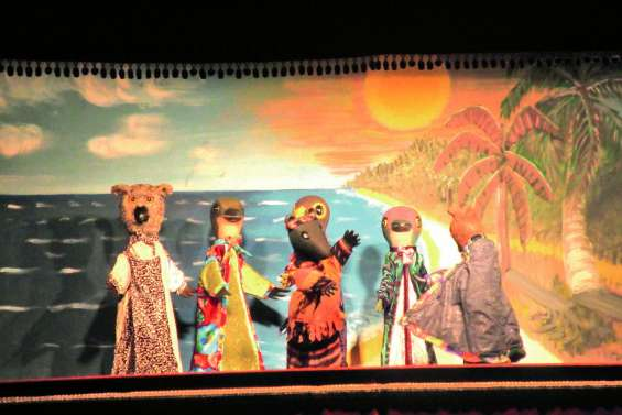 Le poulpe, le rat et la roussette ont amusé plus de 500 écoliers