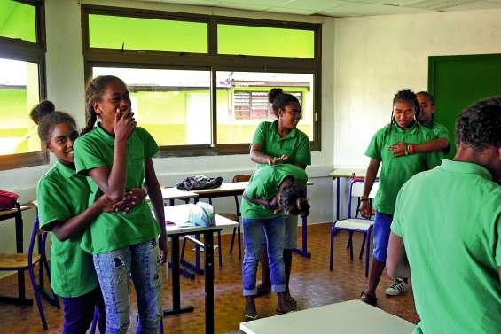 Les collégiens de Tadine formés aux gestes qui sauvent