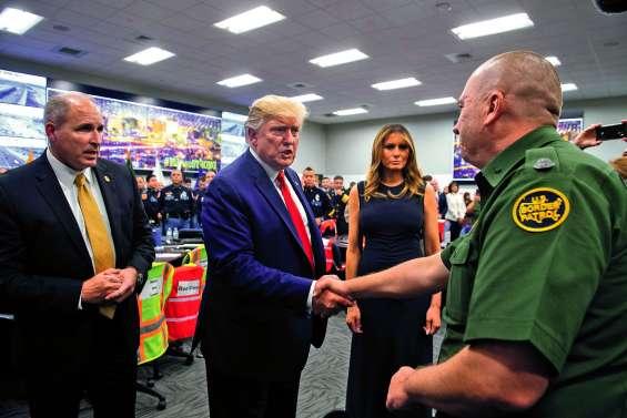 Visite millimétrée de Trump  à El Paso et à Dayton