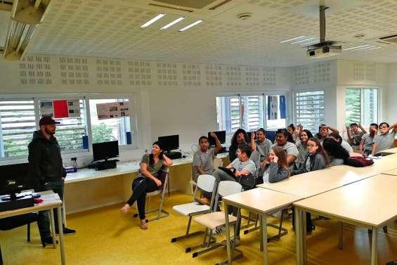Un 2e forum des métiers s'est tenu au collège de Dumbéa-sur-Mer