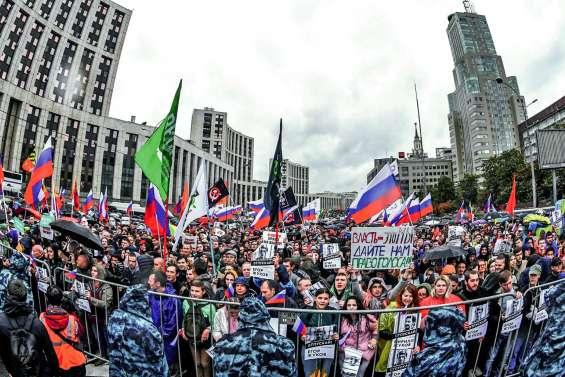 Mobilisation record à Moscou pour des « élections libres »