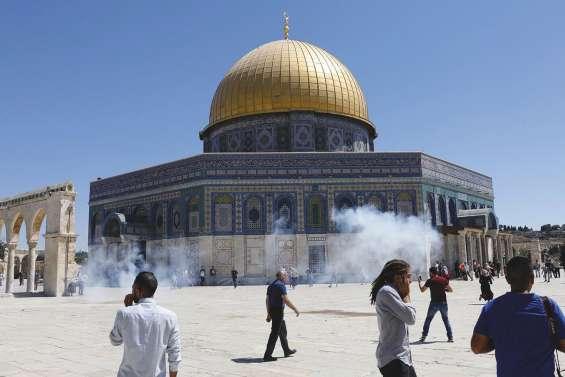 Heurts sur l'esplanade des Mosquées à Jérusalem