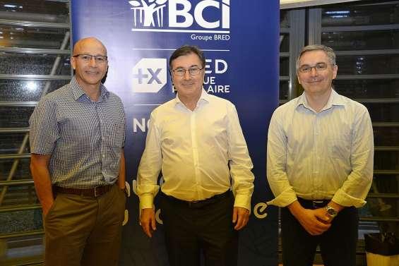 Le groupe BRED en visite dans sa filiale BCI