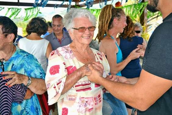 Coup de fête chez les seniors