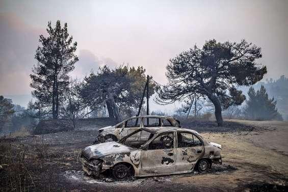 « Catastrophe écologique » sur l'île d'Eubée ravagée par les flammes