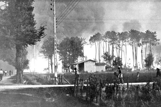 Il y a 70 ans , « l'incendie du siècle »  aux 82 morts en Gironde