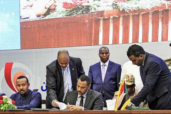 Signature d'un accord historique au Soudan
