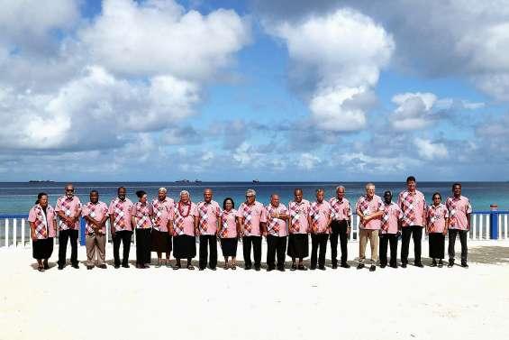 l'Australie a édulcoré l'appel des îles du Pacifique