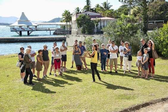 Retour à l'époque du bagne le temps d'une matinée sur le site de l'île Nou