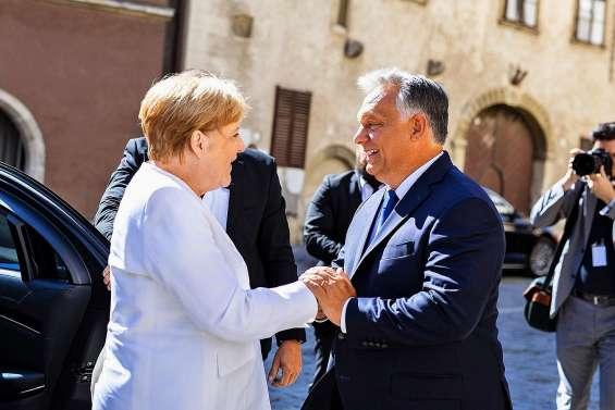 Merkel et Orban célèbrent la fin du Rideau de fer