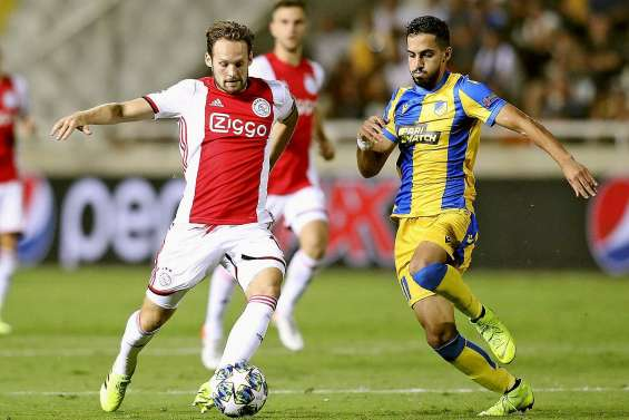 Accroché à Nicosie, l'Ajax Amsterdam se fait peur
