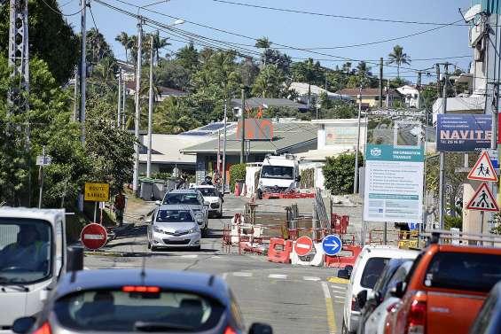 Route du Port-Despointes, les travaux inquiètent riverains et commerçants