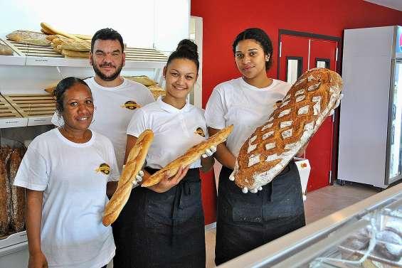 Le Pain corse, une nouvelle boulangerie ouverte avenue des Deux baies