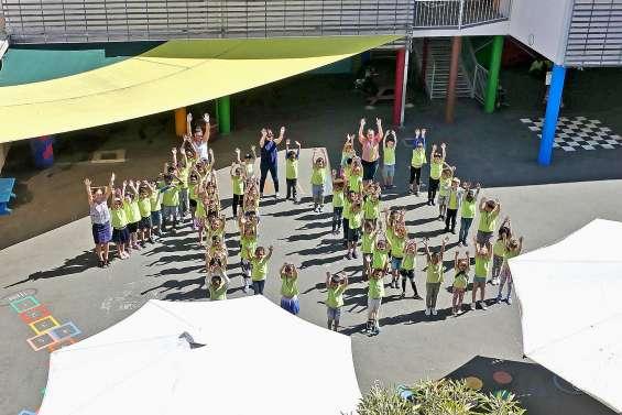 Les écoliers de Saint-Jean-Baptiste fêtent 100 jours d'école