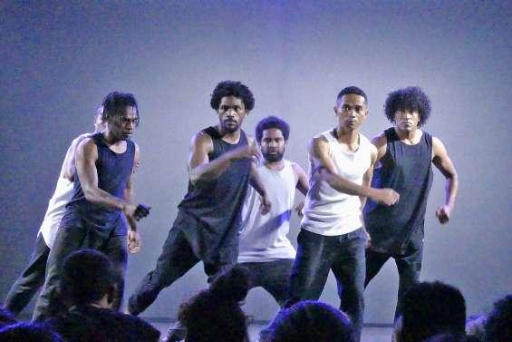 Les danseurs à fond lors du Rex contest
