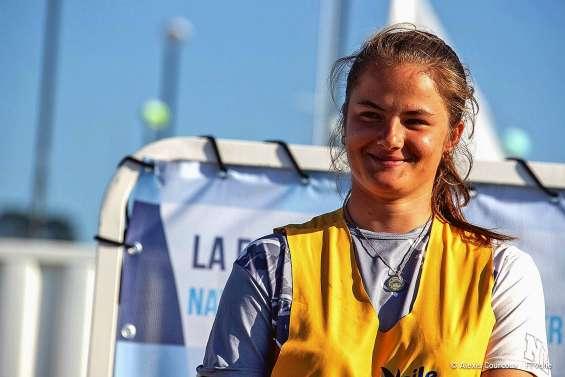 Juliette Bone sur un podium national à Brest