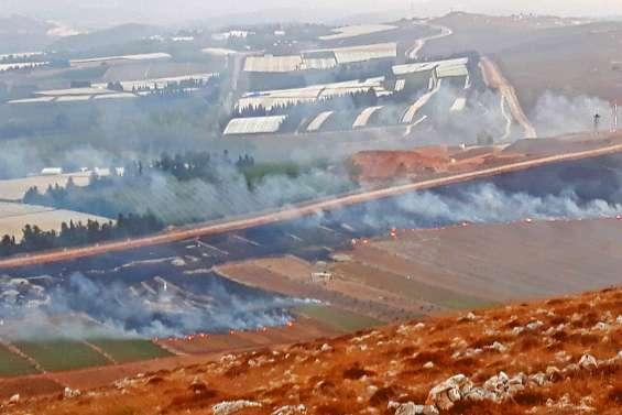 Vives tensions à la frontière israélo-libanaise