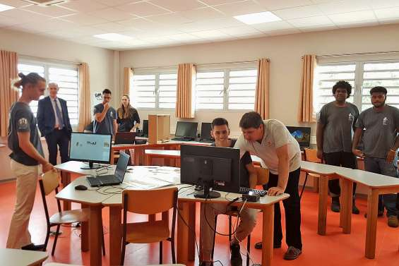 718 millions de travaux réalisés au lycée Petro-Attiti pour un meilleur cadre de vie