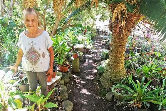 En 55 ans, Hélène Tindao a métamorphosé son terrain en jardin d'Eden