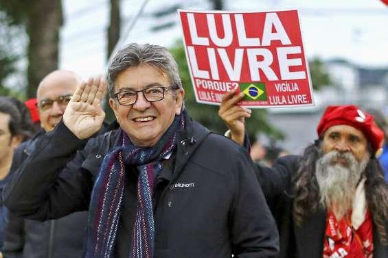 Mélenchon rend visite au prisonnier Lula