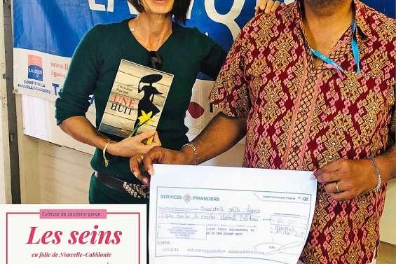 Les Seins en folie rapportent 60 000 F à la Ligue contre le cancer