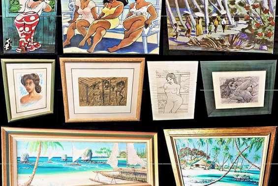 Près de 120 œuvres d'art en vente aux enchères