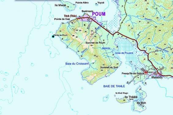 Une barge se retourne à Poum, 300 tonnes de minerai au fond du lagon