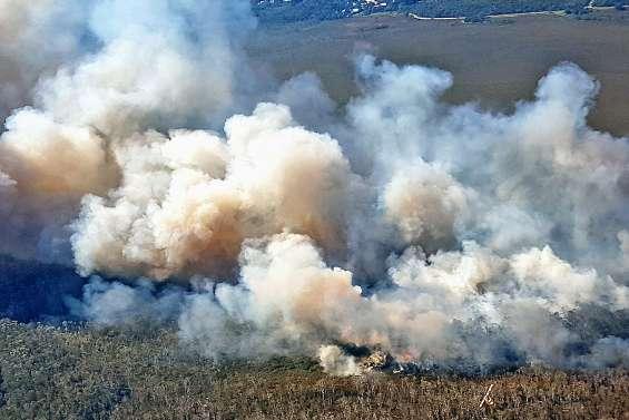 L'est de l'Australie en proie à d'immenses feux
