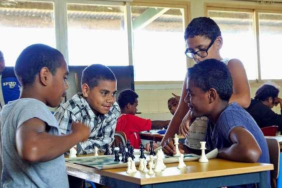 Les collégiens de Taremen réussissent grâce aux échecs
