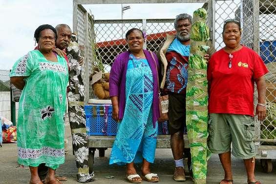 Les producteurs de Nengone en route pour la Foire des Îles