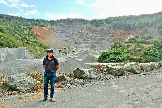 Socam Pacifique souhaite étendre  la carrière de basalte de Tonghoué