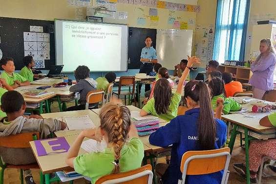 La lutte contre les violences s'invite à l'école Daniel-Mathieu