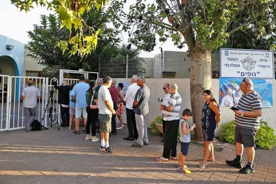 Le sort de Netanyahu  va se jouer dans les urnes