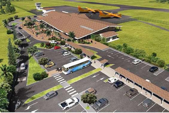 Lifou : le projet de construction de la nouvelle aérogare est officialisé