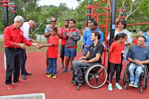 Le premier workout pour handicapé inauguré