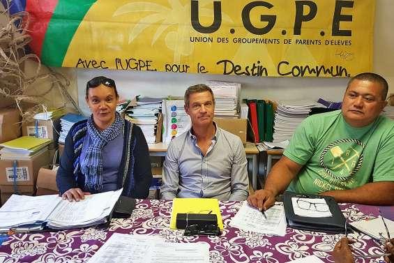 Nouvelle mobilisation de l'UGPE devant Garnier