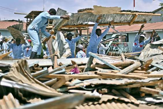 L'école s'écroule : sept morts à Nairobi