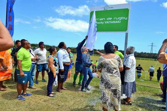 Le terrain « Rocky-Vaitanaki » inauguré, samedi