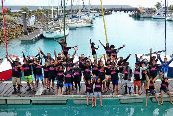 Cap sur la finale pour les jeunes marins et artistes des îles Loyauté