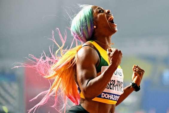 Shelly-Ann Fraser-Pryce devient quadruple championne du monde