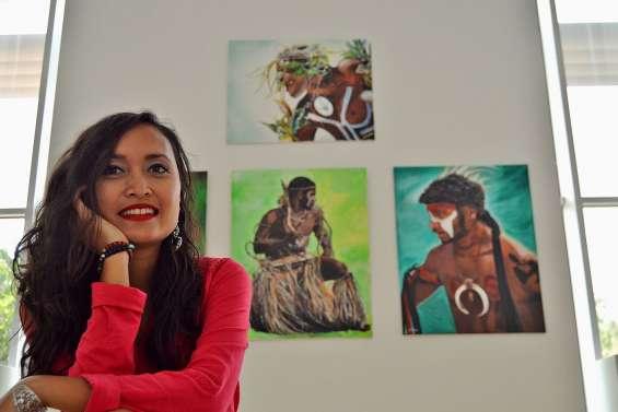 Les peintures de Stéphanie Velasco s'exposent à partir de ce soir