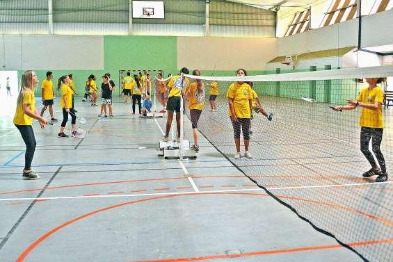 La section sportive badminton du collège Djiet recrute aujourd'hui