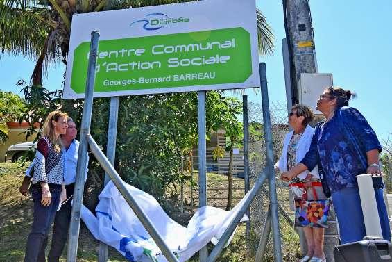 Le Centre communal d'action sociale prend le nom de Georges-Bernard-Barreau