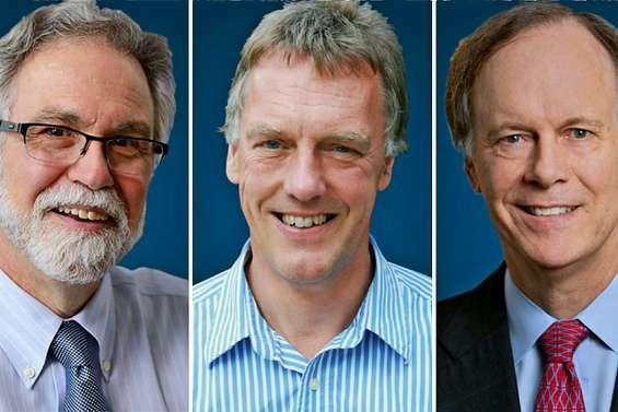 Le Nobel de médecine à trois chercheurs