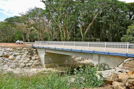 Les travaux du pont de la Swaha avancent bien