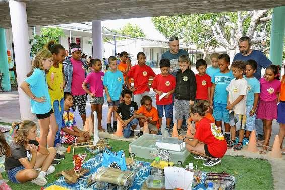 Les jeunes scientifiques de Charles-Mermoud exposent leurs travaux