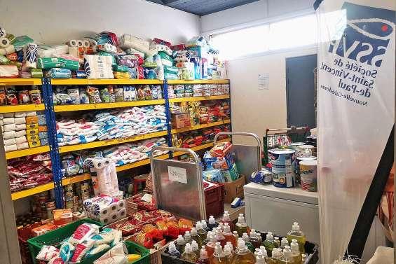 Saint-Vincent-de-Paul a collecté deux tonnes de riz
