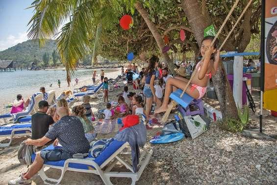 Le Kuendu Beach transformé en guinguette le temps d'une journée