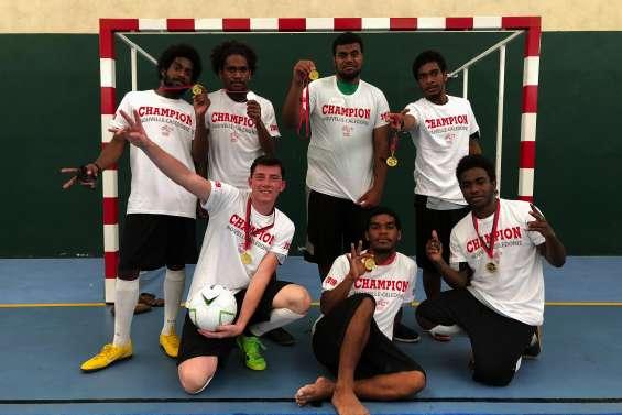 Des jeunes du lycée Augustin-Ty champions de futsal
